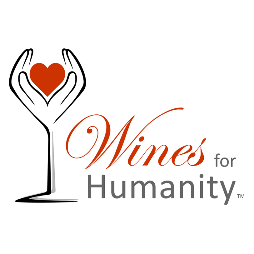 wine for humanity logo eve carson memorial 5k for education